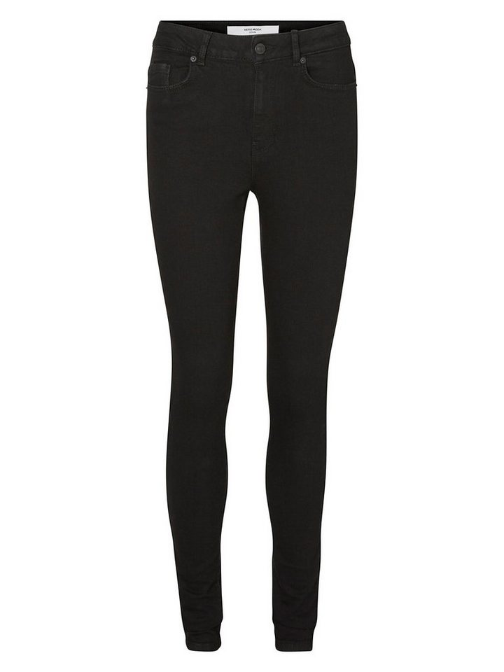 Vero Moda Nine HW Skinny Fit Jeans in Black