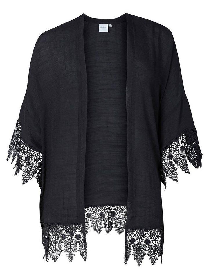 JUNAROSE Loose- Kimono in Black