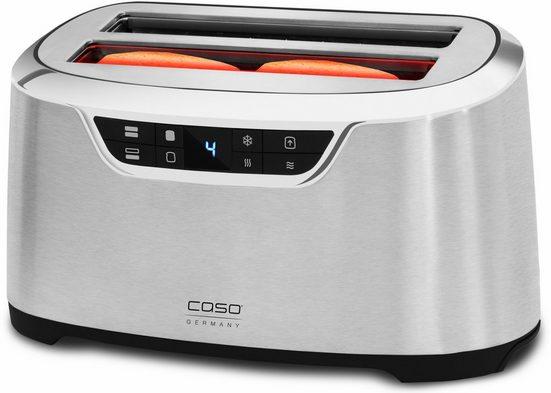 Caso Toaster CASO NOVEA T4, 2 lange Schlitze, für 4 Scheiben, 1600 W