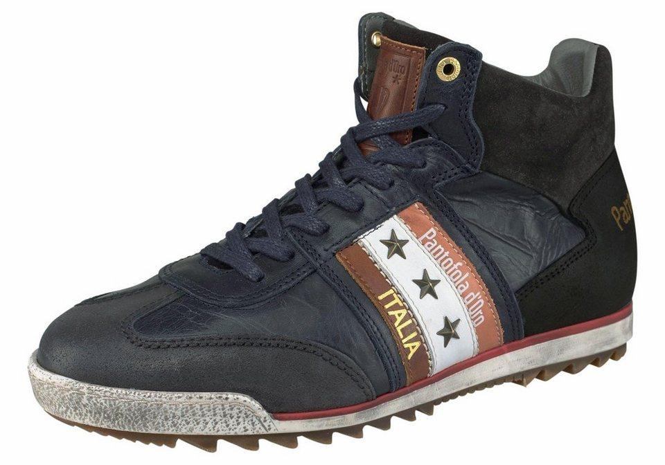 Pantofola d´Oro »Ascoli Grip Mid« Sneaker in schwarz-cognac