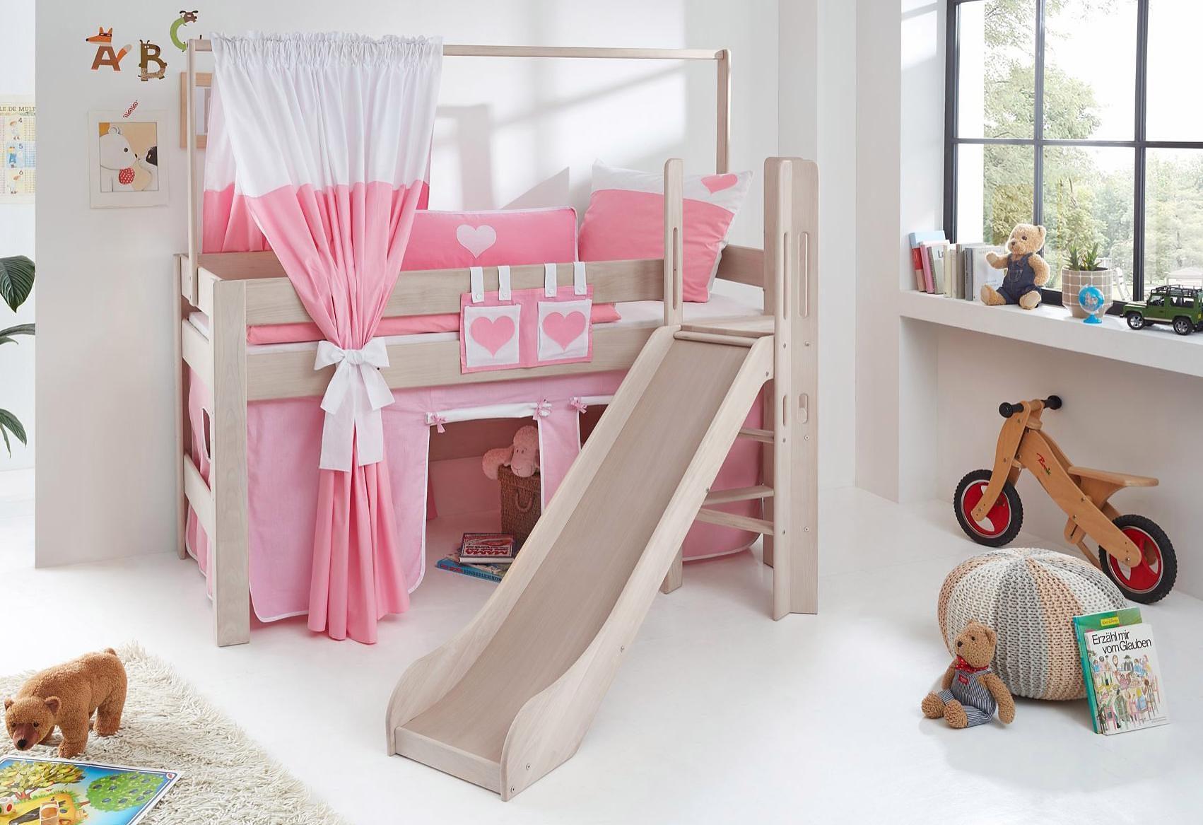 Etagenbett Kinder Rutsche : Etagenbett mit treppe luxus kinder rutsche