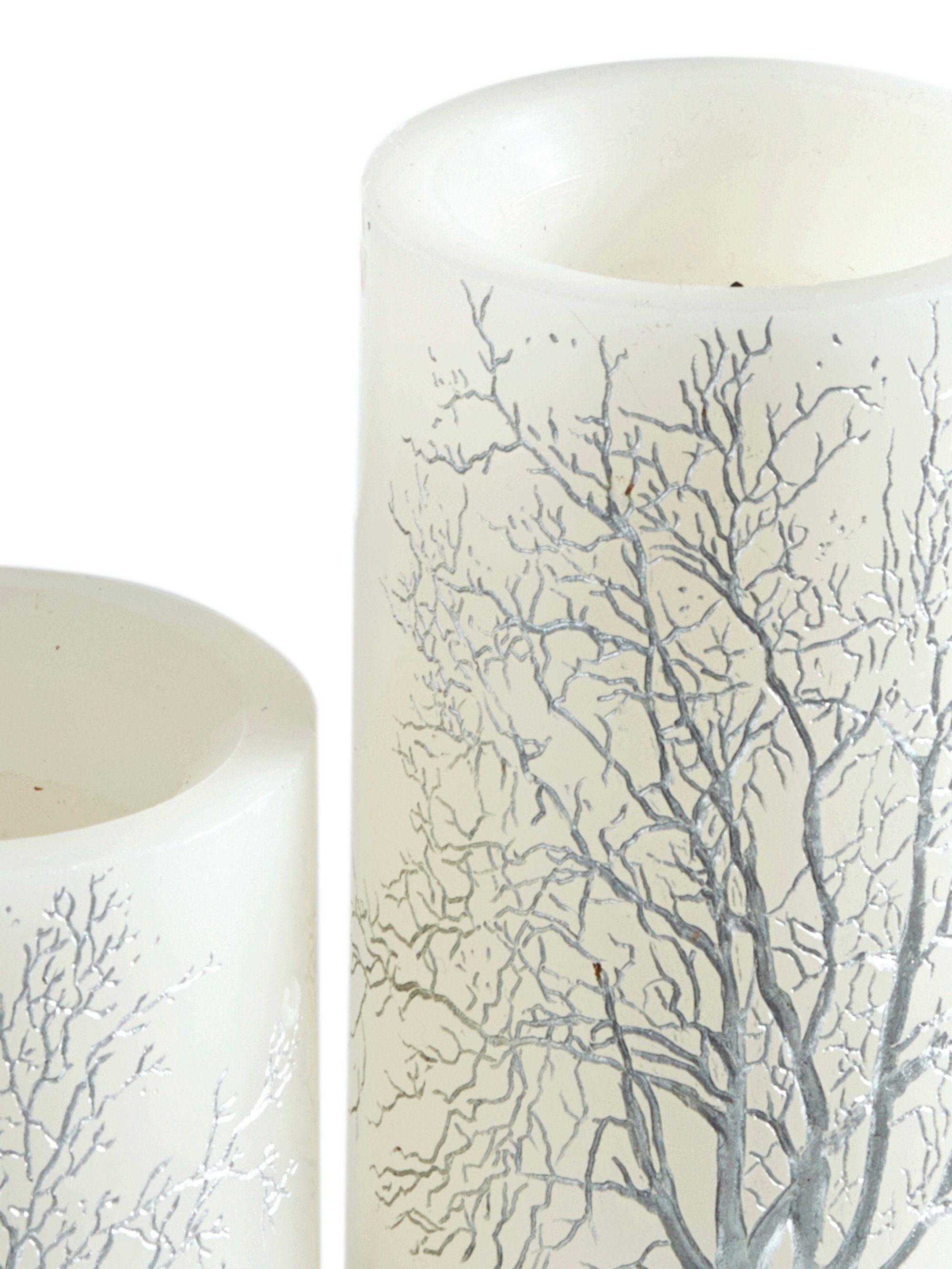 heine home LED-Kerzen, 2er-Set Mit Baum-Motiv