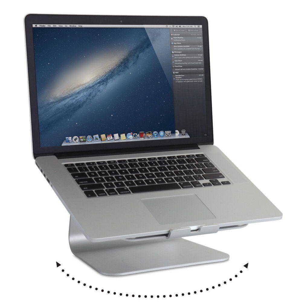 RAIN DESIGN Notebook »mStand360 26,5 cm Auflage«