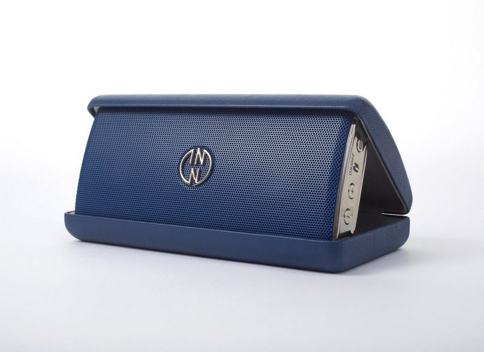 INNODEVICE Bluetooth Lautsprecher »InnoFlask blau«