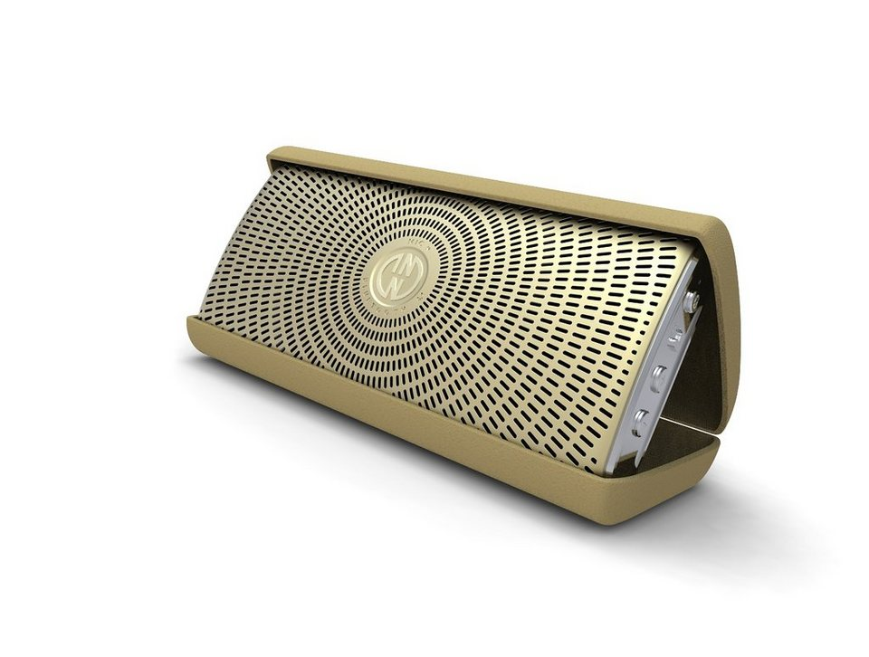 INNODEVICE Bluetooth Lautsprecher »InnoFlask 2.0 gold«