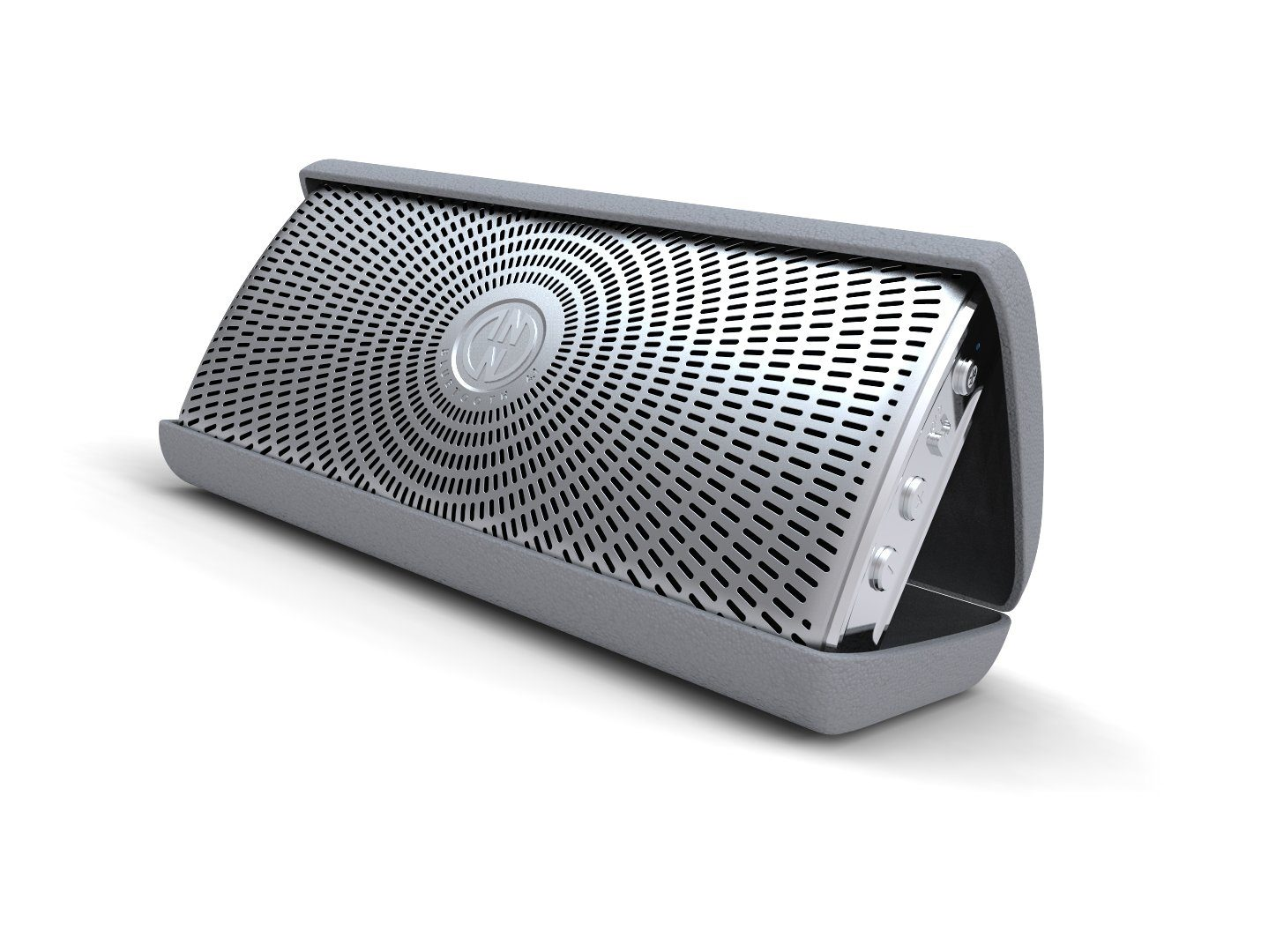 INNODEVICE Bluetooth Lautsprecher »InnoFlask 2.0 silber«