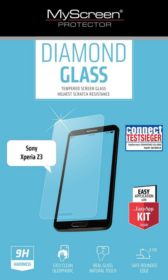 MYSCREEN Schutzglas »Diamond Glass für Xperia Z3«