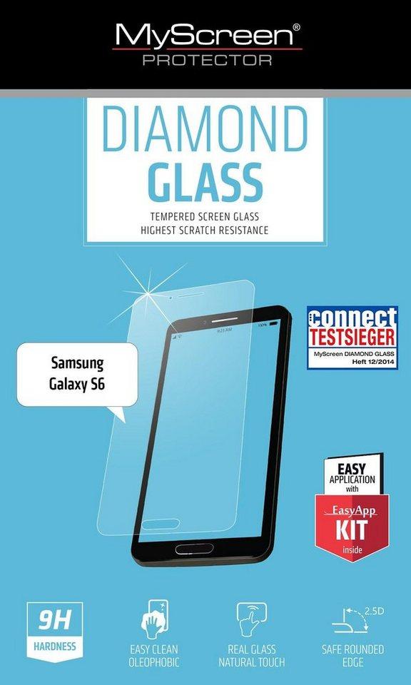 MYSCREEN Schutzglas »Diamond Glass für GS6«