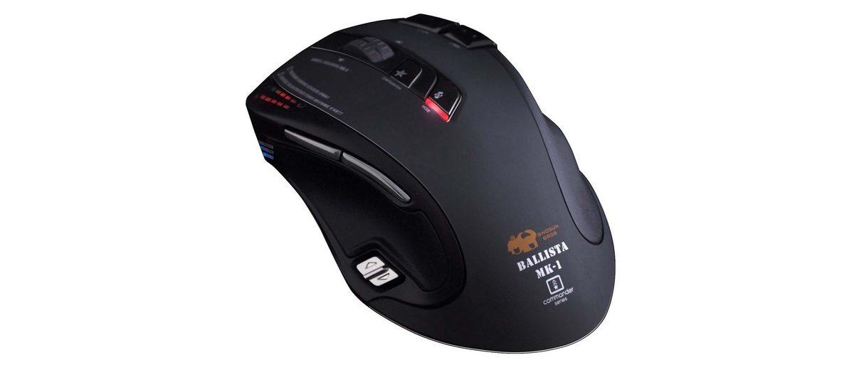 SHOGUN BROS Gaming Mouse »Ballista MK-I USB schwarz«