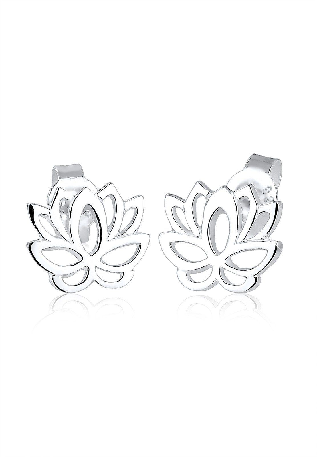 Elli Ohrringe »Silber Lotusblume«