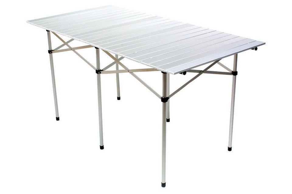 Relags Camping Tisch »Travelchair Rolltisch, groß« in weiß