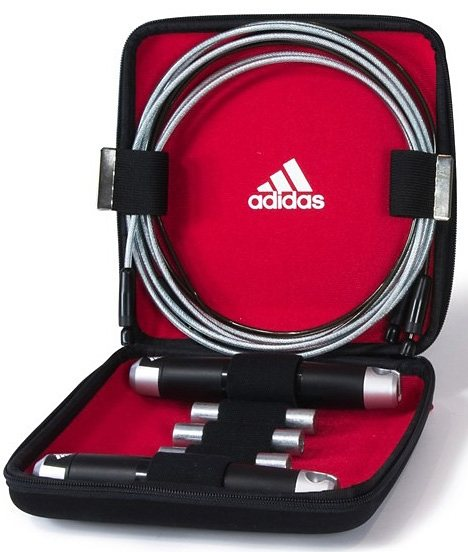 adidas Performance Training Springseil, »Skipping Rope with Carry Case« in schwarz