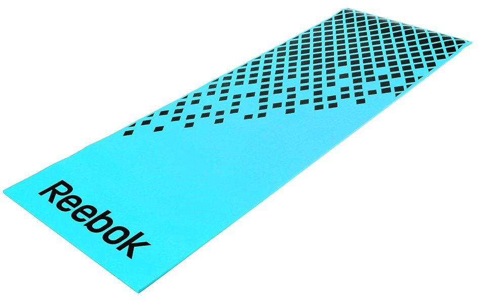 Reebok Fitnessmatte, »Training Mat Blue/Diamond« in blau