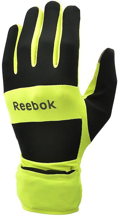 Reebok Laufhandschuhe, »All Weather Running Gloves« in gelb
