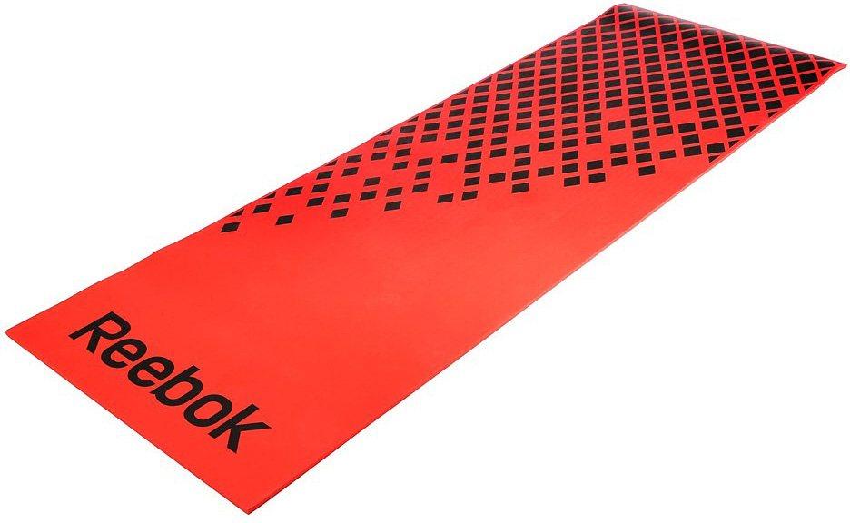 Reebok Fitnessmatte, »Training Mat Red/Diamond« in rot