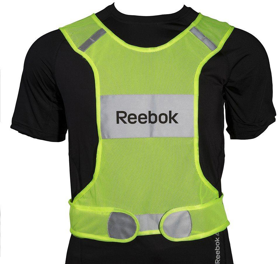 Reebok Laufjacke unisex, »Running Vest« in gelb