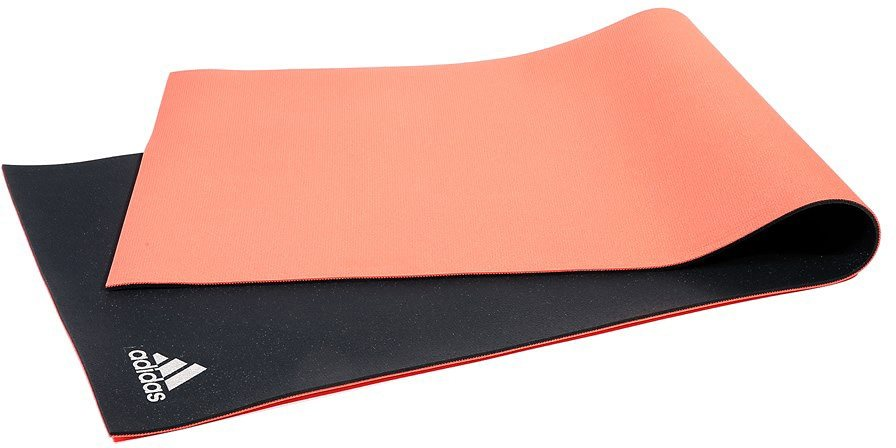 adidas Performance Yoga Yogamatte, »Dual Texture Yoga Mat 6 mm« in rot