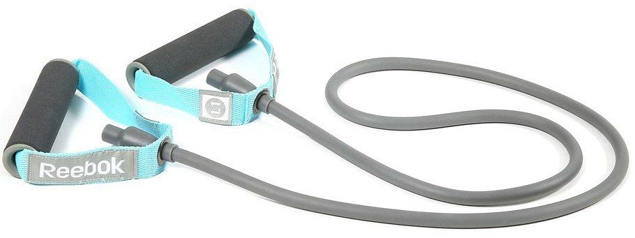 Reebok Fitnessband, light/medium/heavy, »Für eine Vielzahl an Trainingsformen« in grau