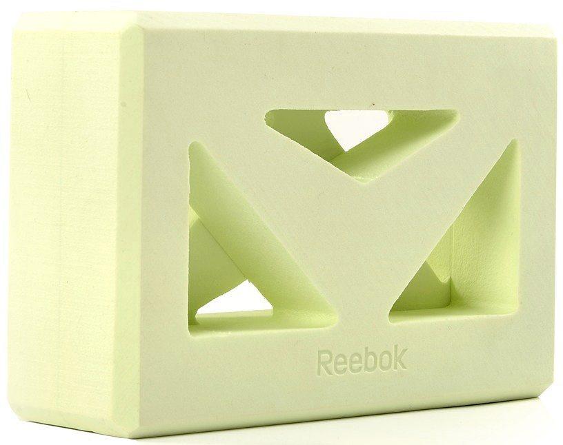 Reebok Yogablock, »Shaped Yoga Block« in grün