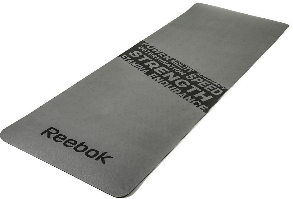 Reebok Fitnessmatte, »Fitness Mat Grey/Strength«