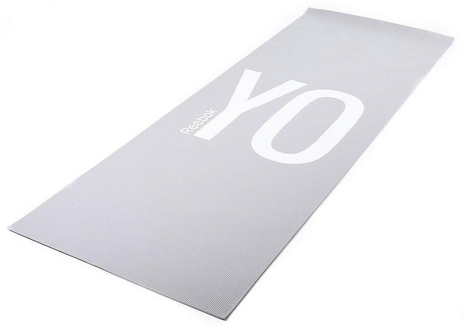 Reebok Yogamatte in grau