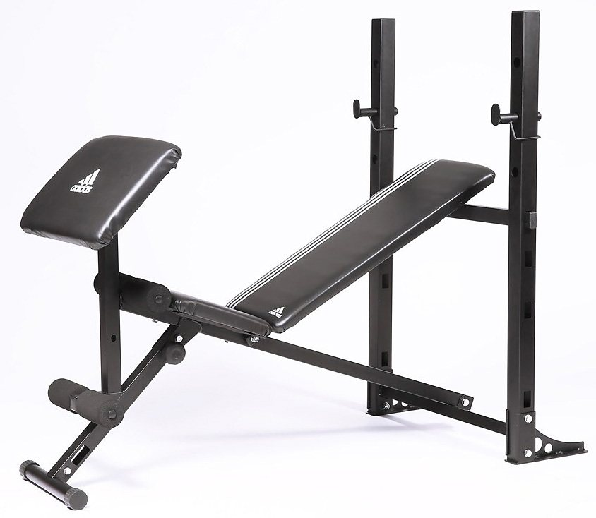 adidas Performance Essential Kraftstation, »Pro Multi Purpose Bench« in schwarz