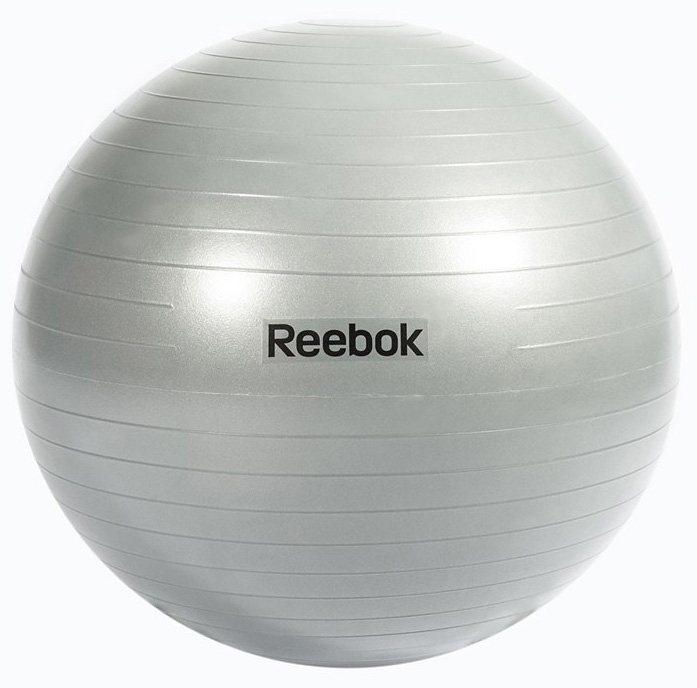 Reebok Gymnastikball , »Gymball Grey 65 cm« in grau