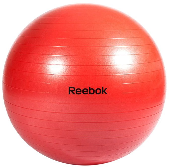 Reebok Gymnastikball, »Gymball Red 65 cm« in rot