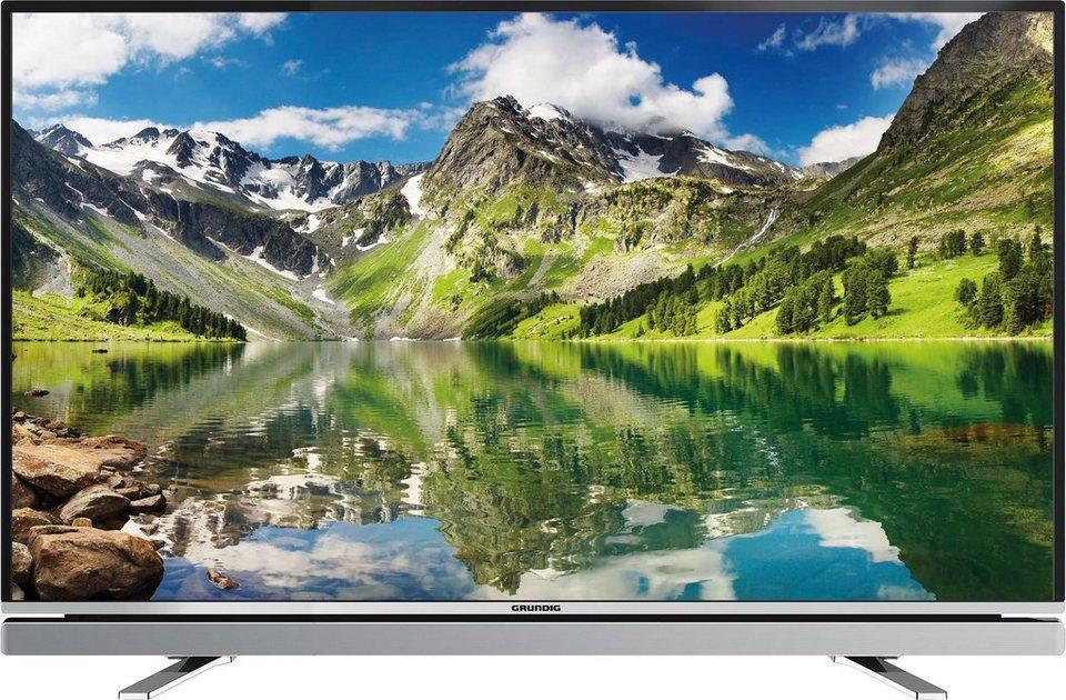 Grundig 55GFB6623 LED Fernseher (139 cm (55 Zoll), Full HD, Smart-TV) inkl. 36 Monate Garantie in silber-schwarz