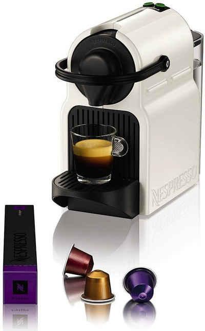 Nespresso Kapselmaschine Inissia XN1001, kurze Aufheizzeit, Kaffeemenge einstellbar, Direktwahltaste, automatischer Kapselauswurf