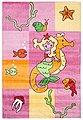 Kinderteppich »Meerjungfrau«, THEKO, rechteckig, Höhe 12 mm, Besonders weich durch Microfaser, Bild 2