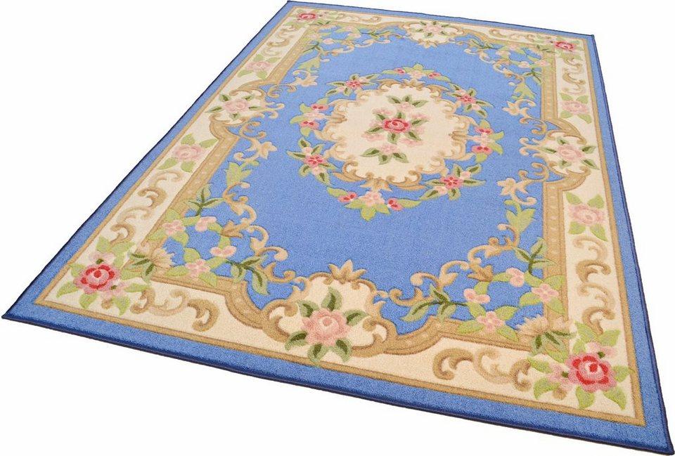 Orient-Teppich, Theko, »Versailles 501« in blau