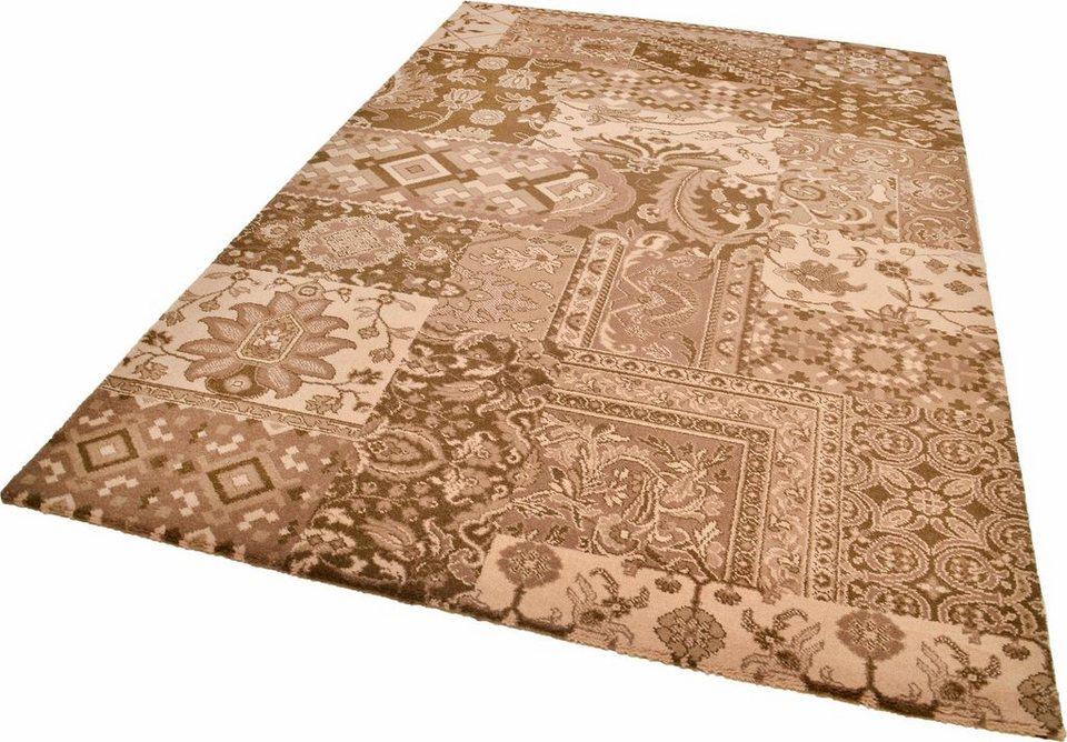 Teppich »Timeless 3«, Theko, rechteckig, Höhe 12 mm in braun