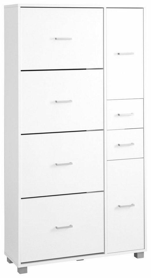 Maxi-Schuhschrank, Schildmeyer, »Pisa« in weiß
