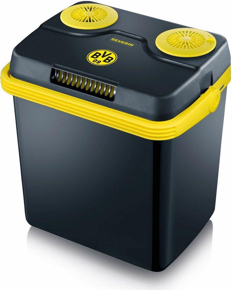 Severin Elektrische Kühlbox KB 9740, Fanartikel Borussia Dortmund in schwarz-gelb
