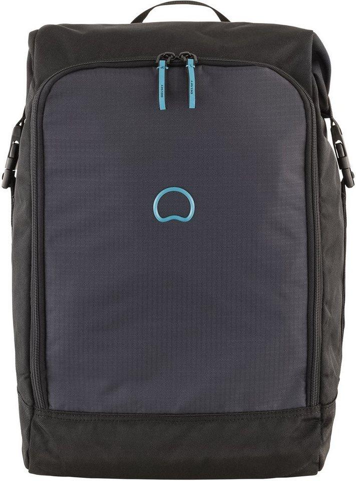 DELSEY Rucksack mit gepolstertem Laptopfach, »Vincennes« in schwarz