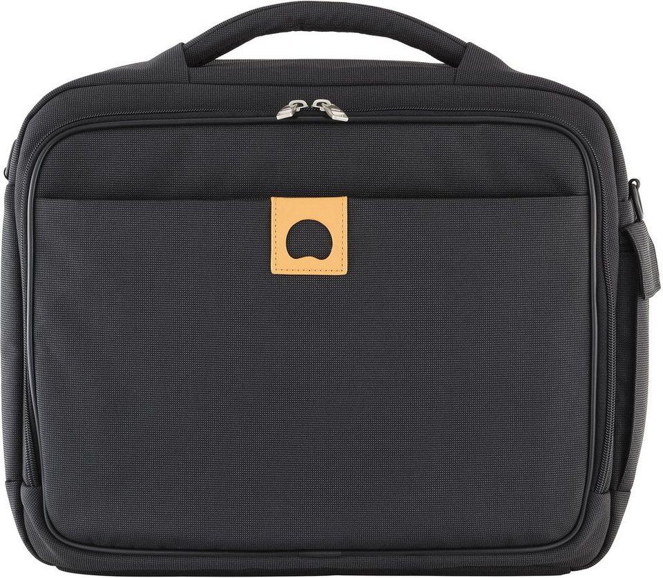DELSEY Businesstasche mit gepolstertem Laptopfach, »Montholon« in anthrazit