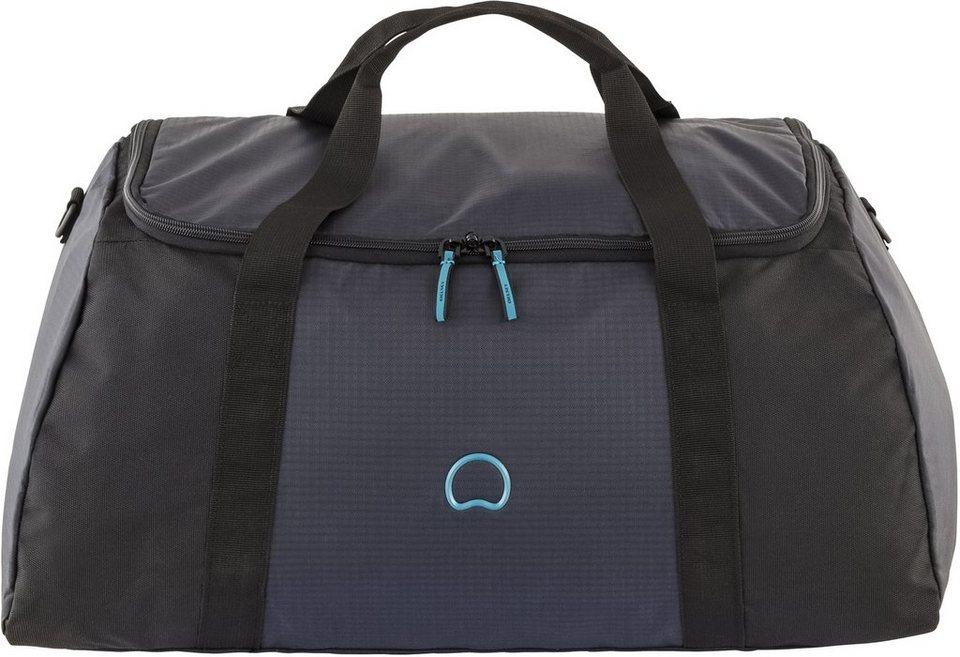 DELSEY Faltbare Reisetasche, »Vincennes« in schwarz