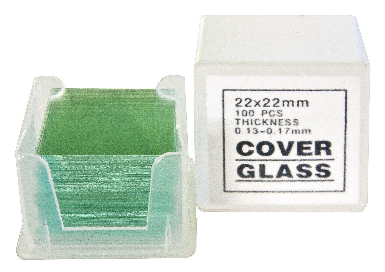 BRESSER Mikroskop »BRESSER Deckgläser 22x22 mm 100 Stk«