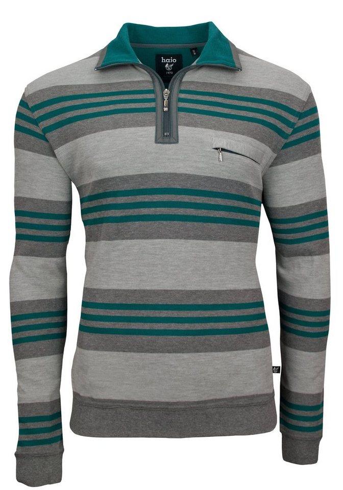 Hajo Sweatshirt in graumelange