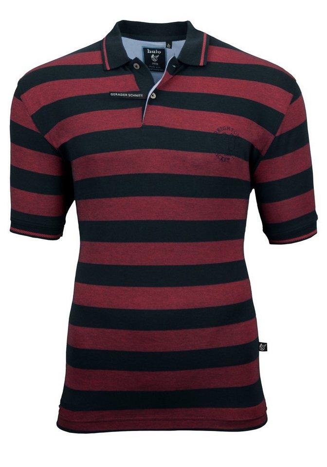 Hajo Poloshirt in marine