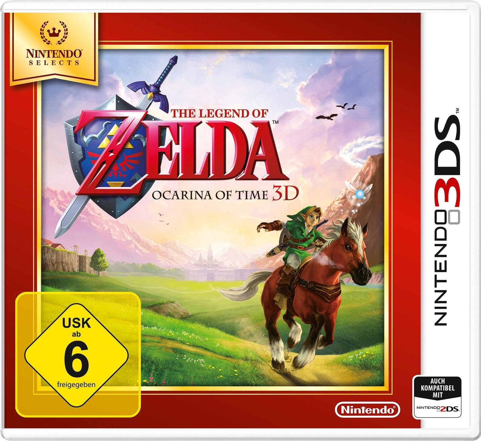 The Legend of Zelda: Ocarina of Time 3D Selects Nintendo 3DS