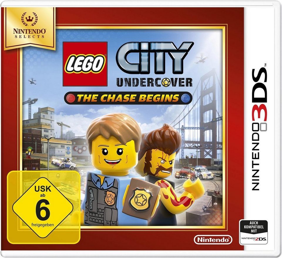Lego City Undercover: The Chase Begins Selects Nintendo 3DS
