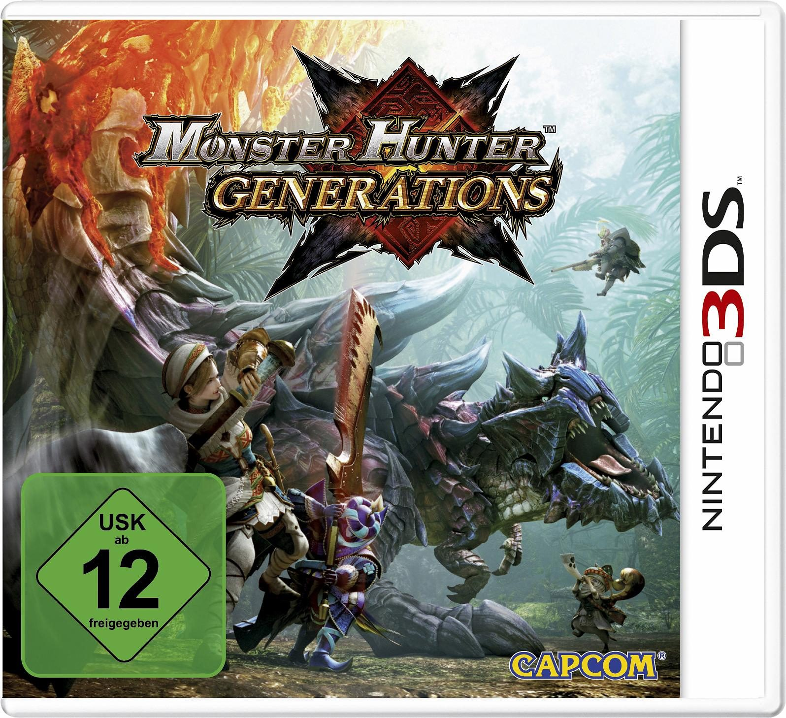 Monster Hunter Generations Edition New Nintendo 3DS