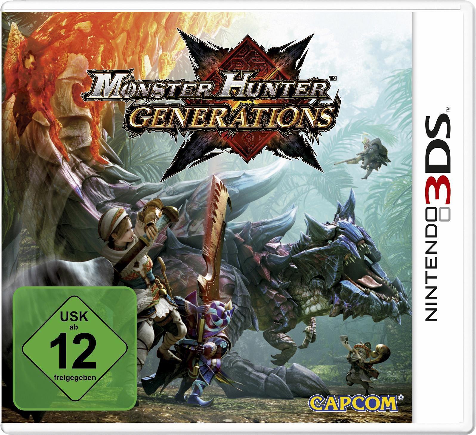 Monster Hunter Generations Edition New Nintendo 3DS