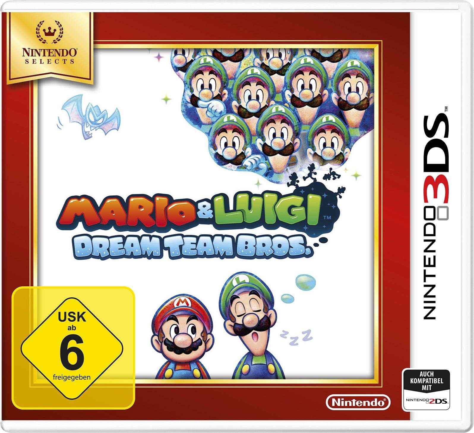 Mario and Luigi: DreamTeam Bros. Selects Nintendo 3DS