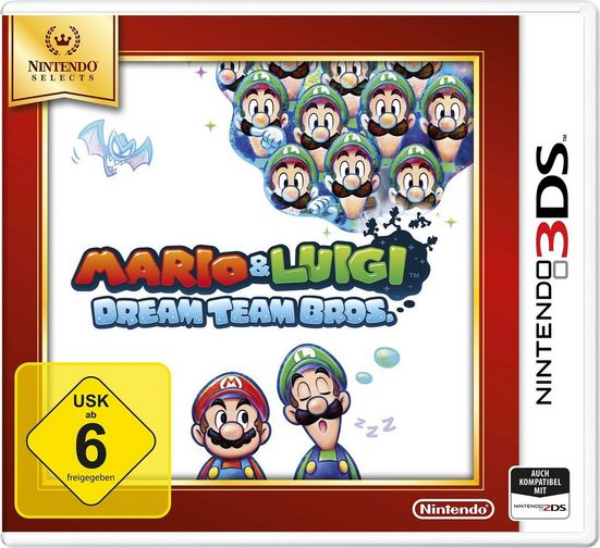 Mario and Luigi: Dream Team Bros. Nintendo 2DS