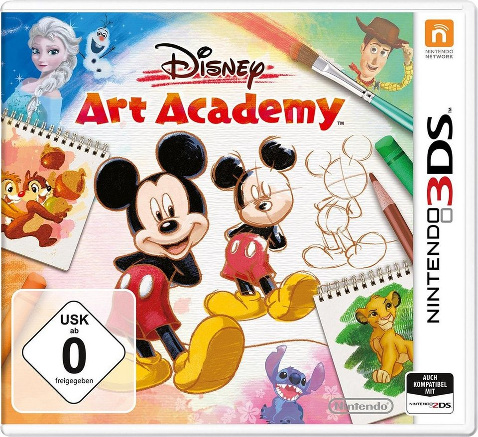Disney Art Academy Nintendo 3DS