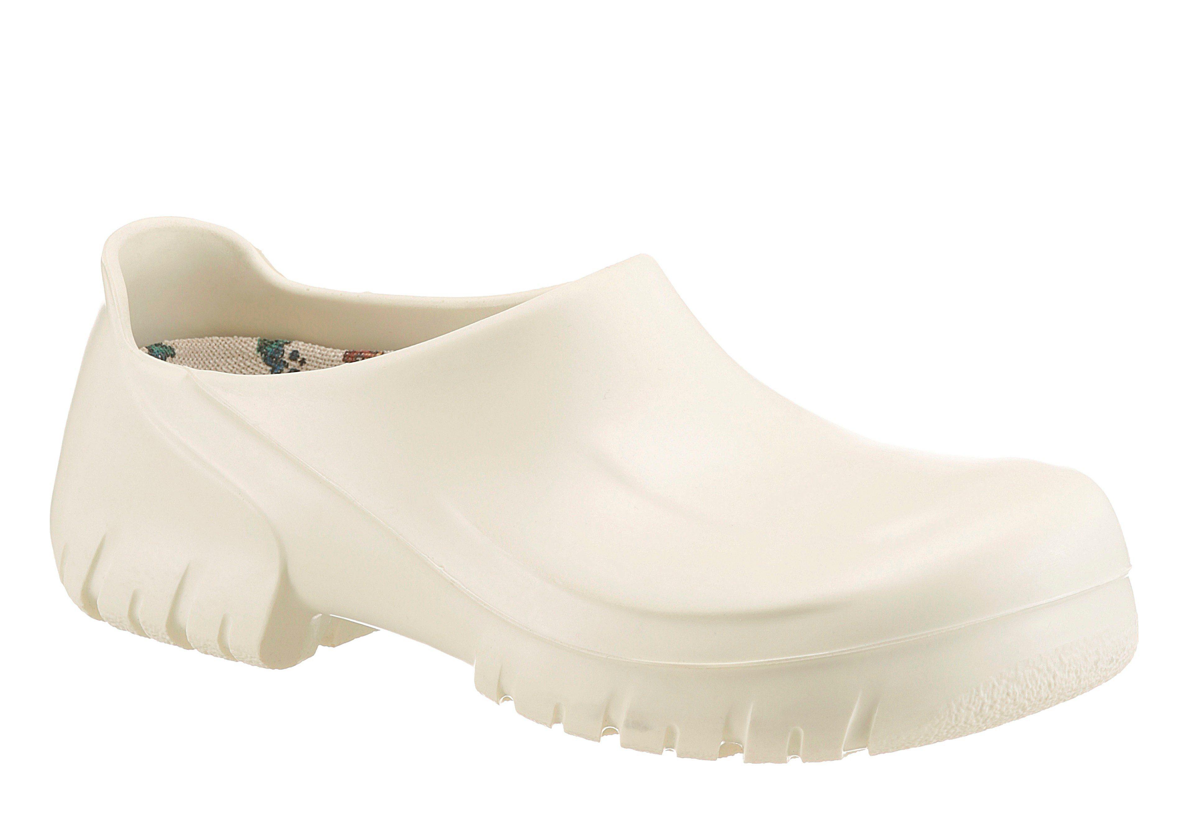 Birkenstock A 640 Clog, Waschbar bei 60° (Wechselfußbett bitte separat bei 30° waschen) online kaufen  weiß-offwhite