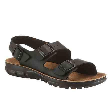 Mann darf auch mal Fuß zeigen: Hier  Sie unsere Auswahl an Sandalen und Zehentrenner für Herren.